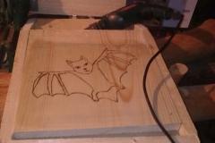 Výroba budek pro netopýry, hmyzích domků a odpadkových košů 2013